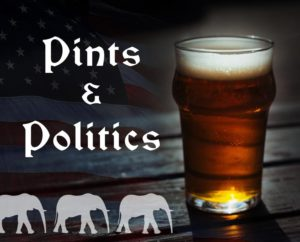 Pints and Politics March @ Lucky's 13